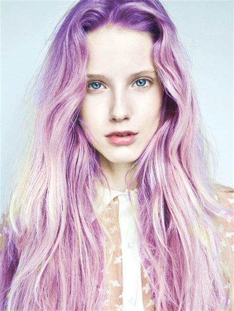 Light Purple Hair Color 14 most striking colored hairstyles for 2014 pretty designs