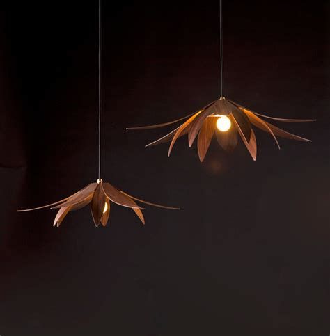 lotus flower pendant light lotus pendant light