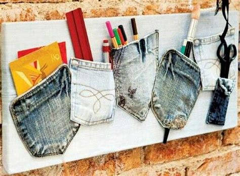 Handmade Home Decor Projects - top 25 cool diy ways to upcycle denims amazing diy