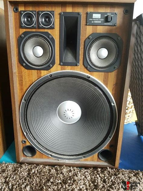 nice speakers nice vintage pair of sansui sp x8000 speakers photo