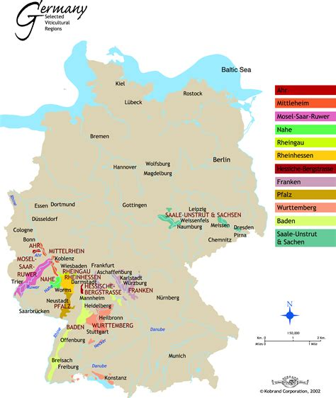 regional map of germany the world s catalog of ideas