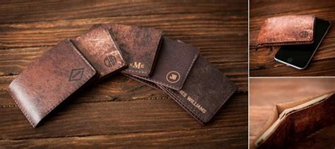 Limited Ed Rama I Bifold Wallet Brown Cognag iphone 6 leather wallet by onne jebiga design lifestyle