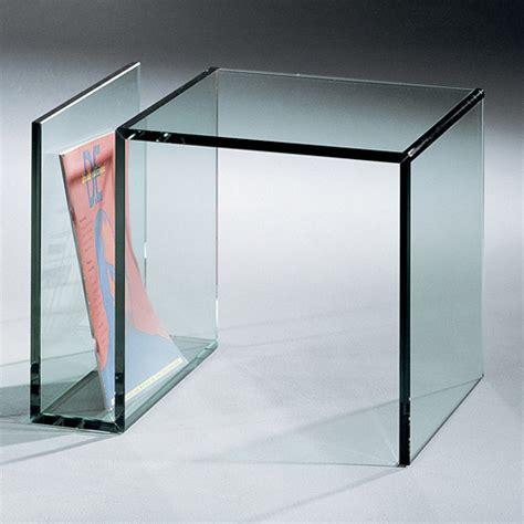 kleine beistelltische aus glas janus 3 kleiner glas beistelltisch dreieck design