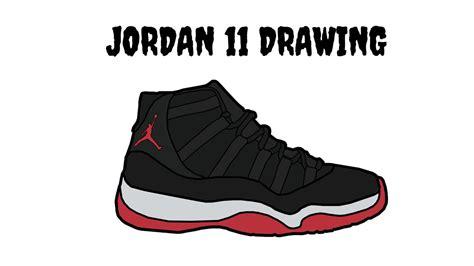 Drawing Jordans by 11 Drawing