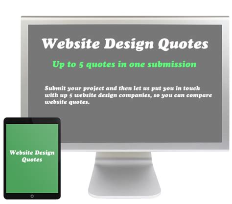 how to quote a website web design quote website design quotes from companies in