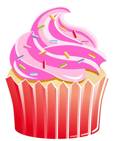free clipart collection free cupcake clip pictures clipartix