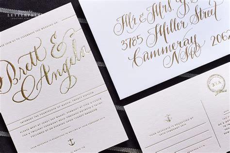 wedding invitations south australia wedding invitations bespoke letterpress graphic design