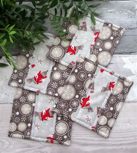 25 best quilted coasters ideas on fabric