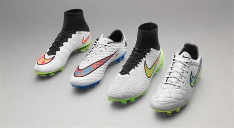 new football shoes nike nike white 2015 football boots pack shine through