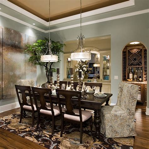 Most Popular Formal Dining Room Colors Dining Room Traditional Dining Room Portland