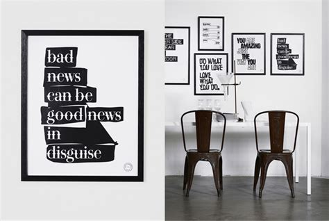 Poster Quotes In This House Kata A4 Dekorasi Dinding Rumah Kamar Ruang Therese Sennerholt Design Char The City Idealista