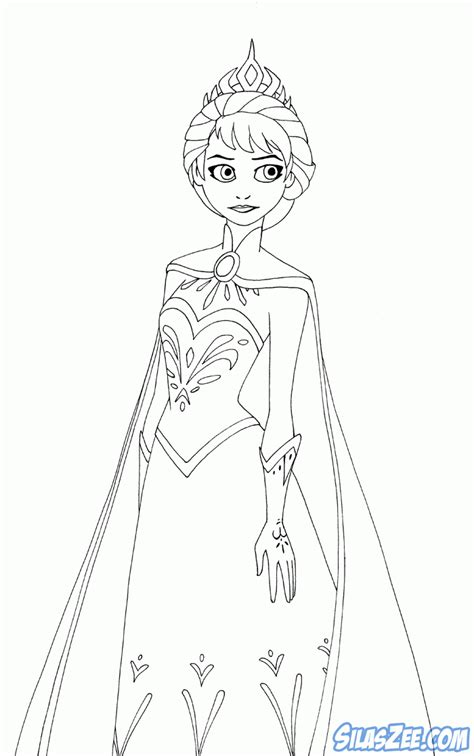 Frozen Coloring Pages High Quality | frozen coloring pages elsa coronation high quality