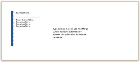 editable envelope templates ms word word excel