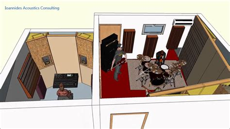recording studio design by ioannides acoustics