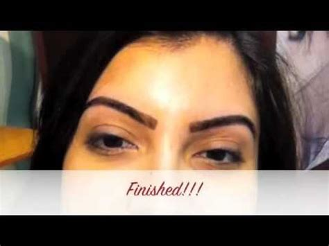 henna tattoo on eyebrows eyebrow henna application