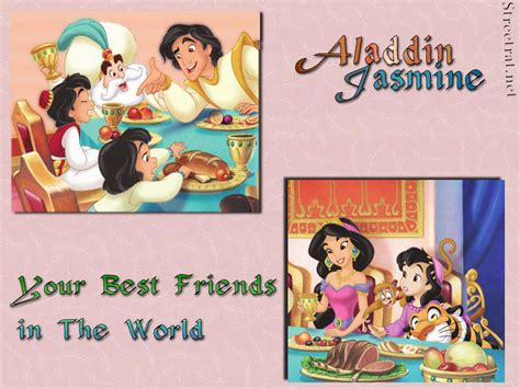 Rapunzel Wall Stickers disney couples images aladdin and jasmine hd wallpaper and