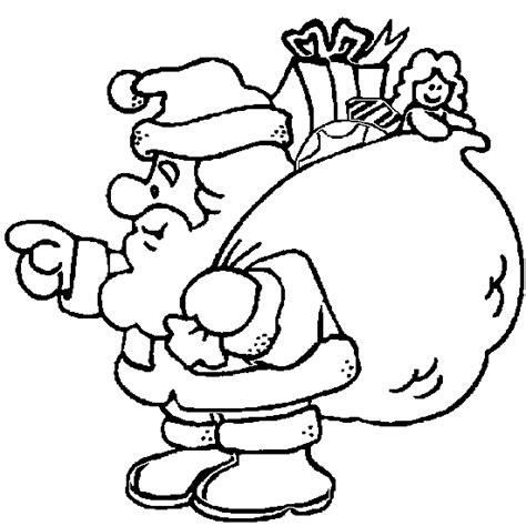 christmas coloring funny santa claus christmas