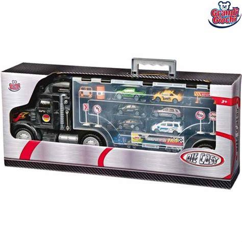 camion porta auto camion porta auto bisarca giocattolo con 6 auto 1 tir e