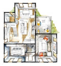 colored floor plans best 25 interior design sketches ideas on
