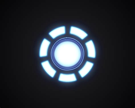 arc reactor iron man wallpaper hd airwallpapercom