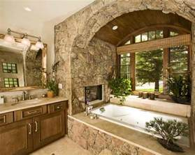 spectacular stone bathroom design ideas decoholic home with walls decor installation interior