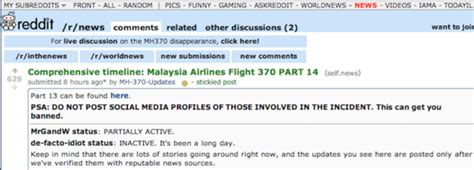 malaysian airlines flight 370 the complete timeline and wisdom of crowds or mob mentality