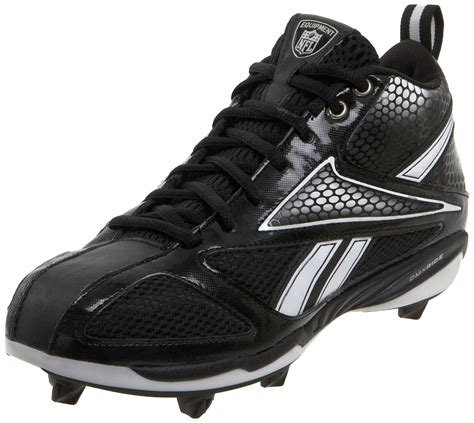 reebok shoes football reebok mens nfl viz u form electrify d4 football cleats in