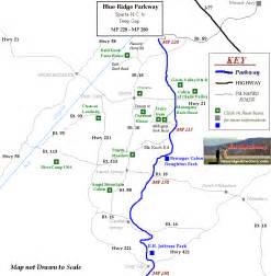 blue ridge parkway map nc images