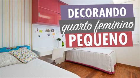 como decorar meu quarto de casal pequeno ideias de como decorar quarto feminino pequeno youtube