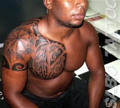 tribal tattoos for black skin tatuagem maori em pele negra black skin