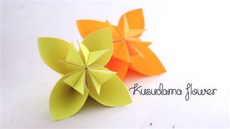 Easy Origami Kusudama Flower - origami kusudama flower doovi