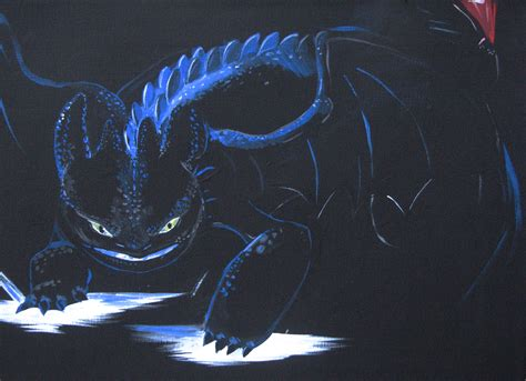 how to an alpha glowing alpha toothless by nomati on deviantart