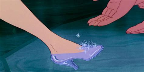 why did cinderella wear glass slippers if the shoe fits but does it cinderella s new slippers