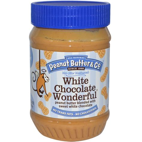 peanut butter peanut butter co white chocolate wonderful peanut butter blended with sweet white