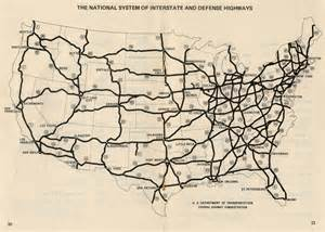 highway road map of united states the math inside the us highway system betterexplained