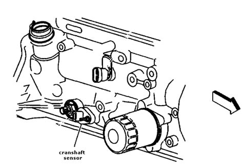 Harmonic Drive Hdt 650 2 location and illustration of crankshaft position sensor