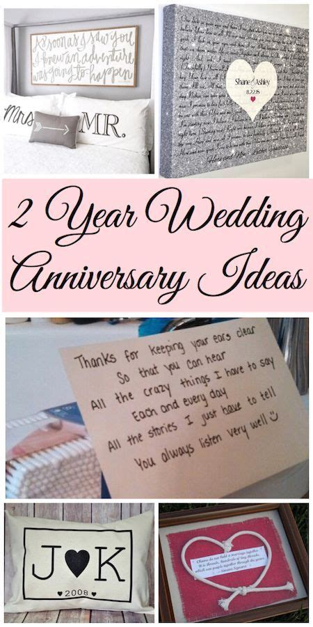 Wedding Anniversary Year 2 by 2 Year Anniversary Gift Ideas Lydi Out Loud