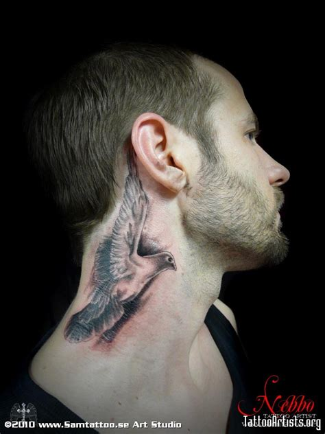 bird tattoo on neck bird on neck artists org