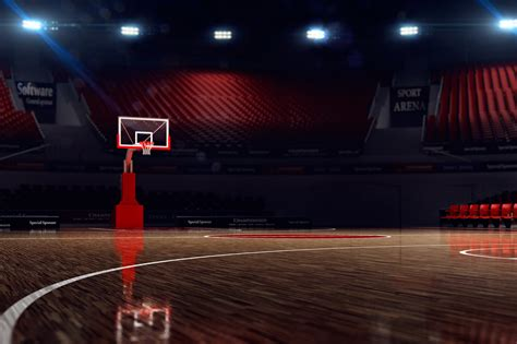 basketball court background   high