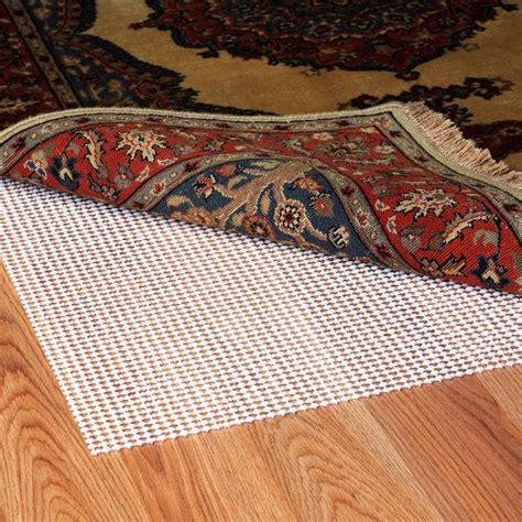 ultra stop non slip indoor rug pad