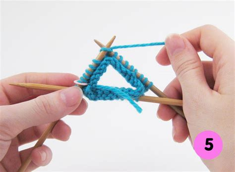 dpns knitting how to knitting with pointed needles mochimochi land