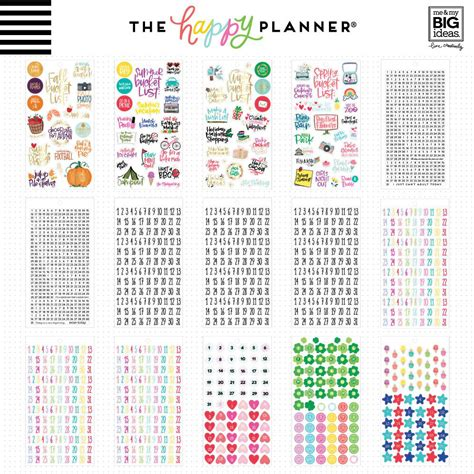 Happy Planner Memory Keeping Stickers