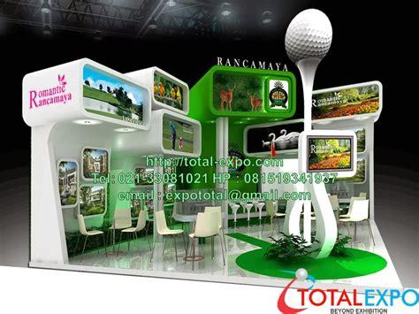 cara desain booth pameran design booth pameran desain unik pembuatan harga