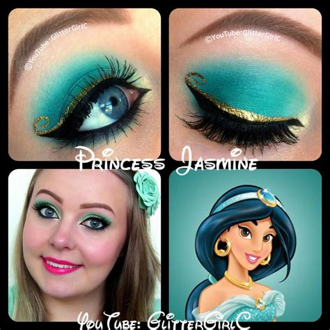 makeup tutorial jasmine princess jasmine makeup d glittergirlc