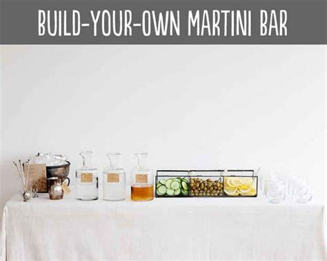 diy martini bar 36 best grown up birthday party ideas images on pinterest