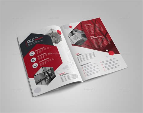 Bi Fold Brochure Templates bi fold brochure template by generousart graphicriver