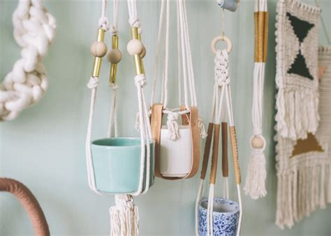 Macrame Patterns Plant Hangers - cool macrame plant hanger ideas for your sweet home