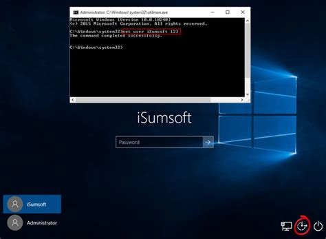 windows reset password command line how to reset windows 10 local admin password with command
