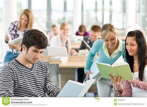 picture books for high school students high school three students with book stock images