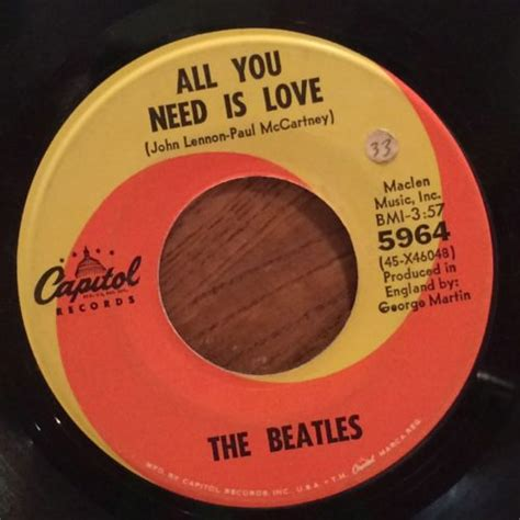 Kaos The Beatles All You Need Is roots vinyl guide